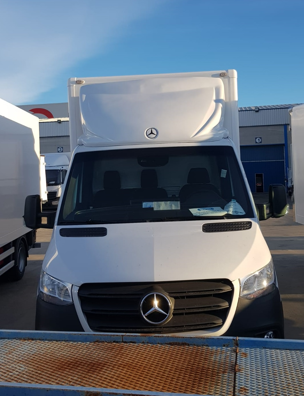 Deflector Mercedes Sprinter